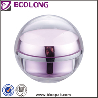 Wholesale customized beauty skin care cream acrylic airless bottle