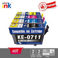 China factory inkjet printer supplies for epson T0711