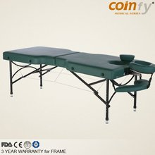 COMFY CFAL06F Aluminum Fold Massager Table