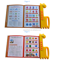 Hot Sale Manufacturer Supply Kids Learning Charts QT0827 Islamic the Arabic Phonetic Chart Educational Toys
