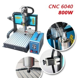 Powerfull Mingda Mini Cnc 3040 Router 800w 4 axis cnc router machine for aluminum