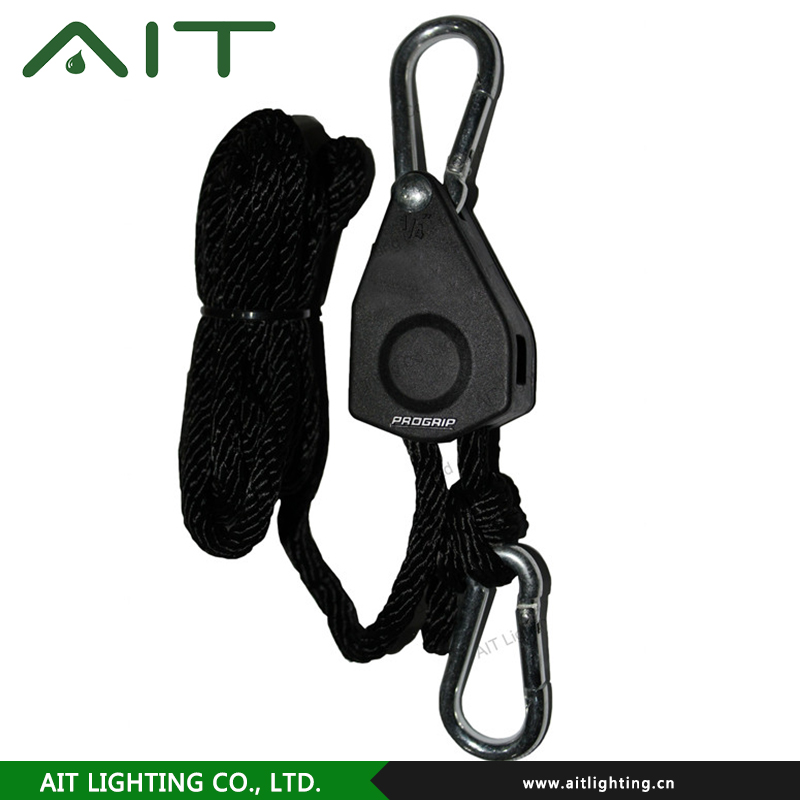 Heat And Cold Resistant rope ratcheting grow hanger