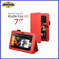 Newest Leather Case For Kindle Fire HD 7 INCH Tablet--Laudtec
