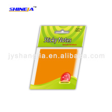 shine Color Removable Self-Adhesive Easy Writing Sticky notes/sticky pad