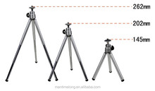 Three tripod fishing lamp laser lamp holder, cell phone camera with mini tripod