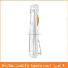 Rechargeable Solar LED Emergency Light For Homes 6V 4AH Battery