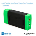 Car Jump Starter Portable Power Bank External Battery Charger 13600mAh - Emergency Auto Jump Starter For Truck/ Van/ SUV/ Laptop
