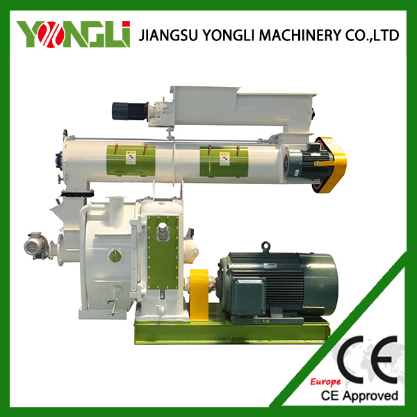 Best selling 1.5-2t/h sugar cane/bagasse pellet mill with CE for sale