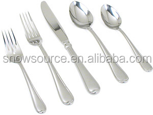 5pcs stainless steel cutlery with ceramic handle, 2.5mm,430s/s,knife,fork,spoon,small spoon,chopstick