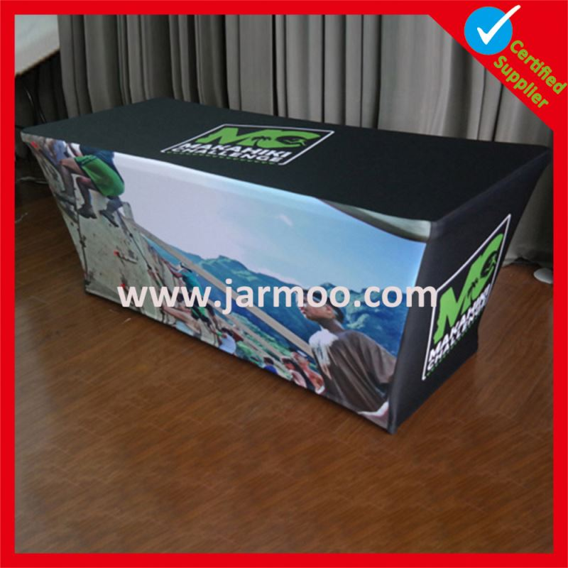 customized custom laminated table covers for exhibition