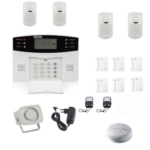 fast selling smart home yard sms gsm wireless security alarms systems