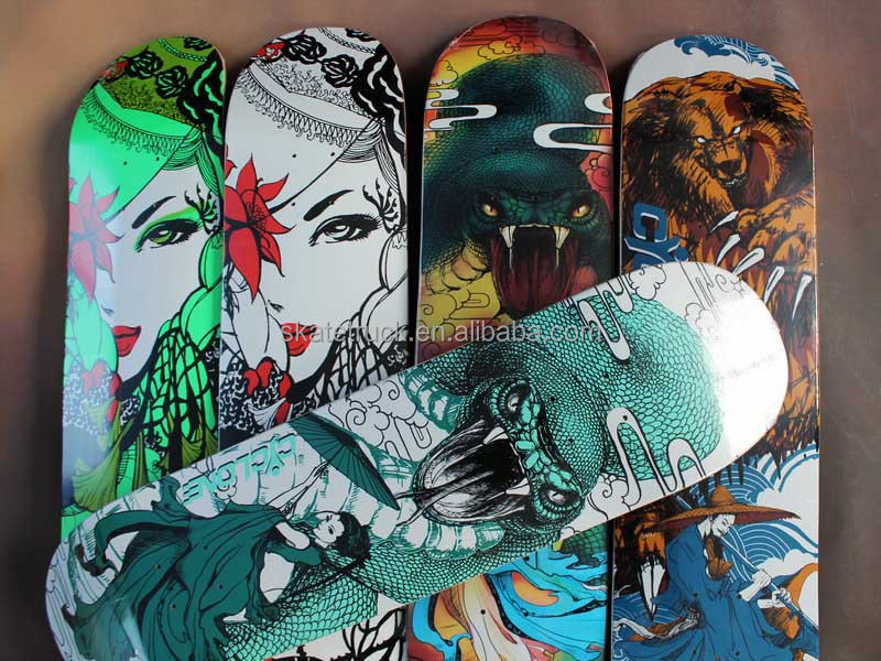 Professional Skateboard Trucks and Skateboard Decks with Top Quality