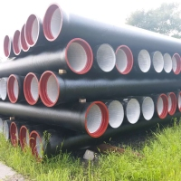 Minerals Metallurgy Galvanized Ductile Iron Pipes