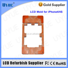 New LOCA UV Glue LCD Mold LCD refurbish Glue Removing Machine Mold for iPhone 4 4S