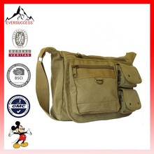 Travel Cross Strap Canvas Messenger Bag(ESDB-0146)