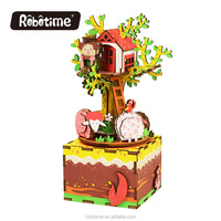 DIY Tree House Wooden Crafts Kits