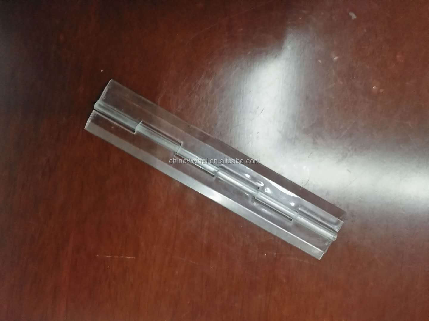 Long 20cm Plexiglass Door Hinges