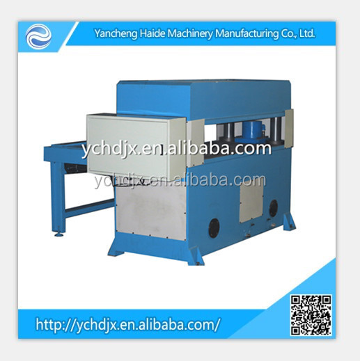 PLC precision four column hydraulic plane cutting machine/cutters business cards