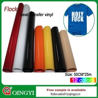 flex and flock transfers vinyl for clothing