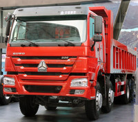 2016 Diesel Chassis dump truck for sale in dubai HOWO 8X4 SINO TRUK with single bunk A-03-05