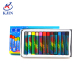 High quality 12 pcs round shape oil pastels set for children gift