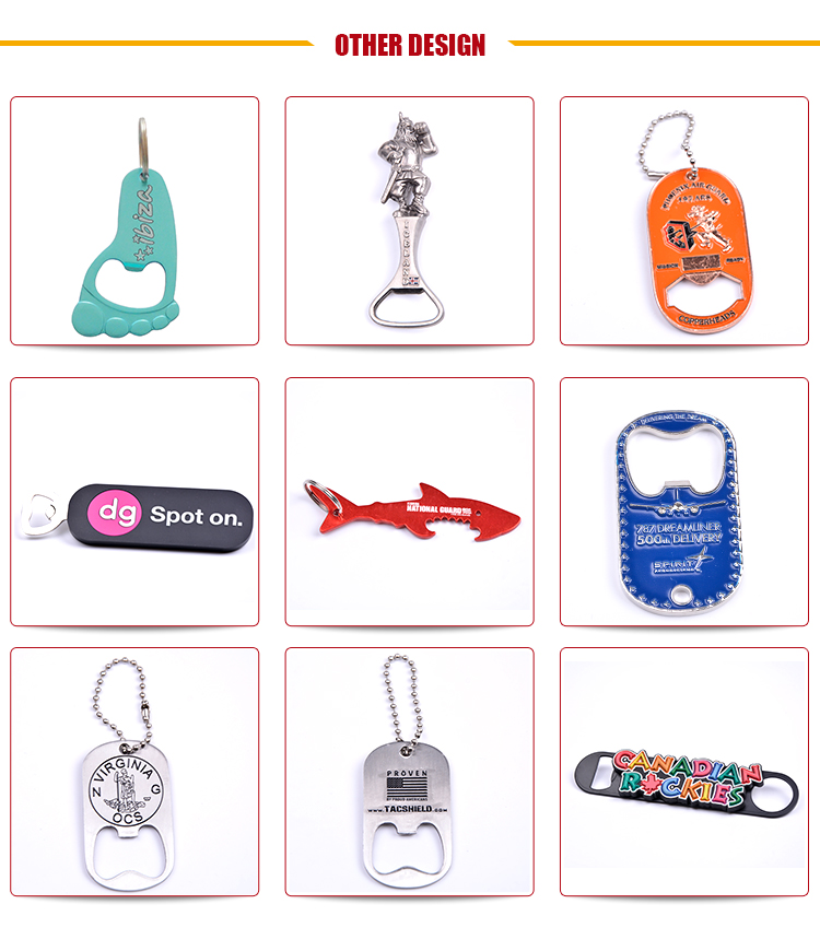 Best Quality Blank Beer Alloy Bottle Opener Manufacturer From China