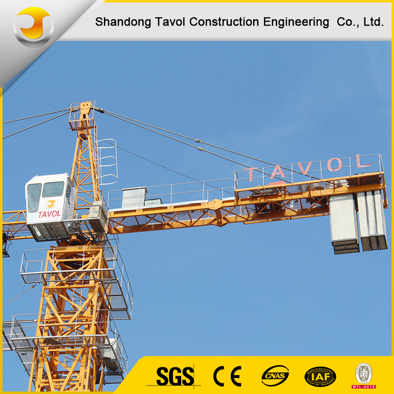 Different types of tower crane in china