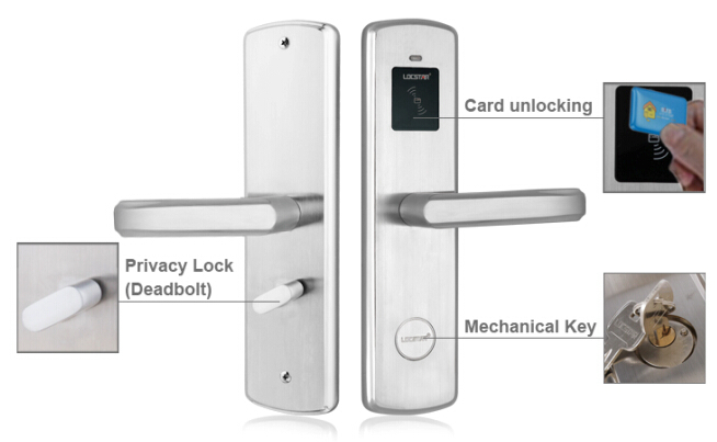 20 Years History Intelligent Contactless RFID Card key Hotel Lock System