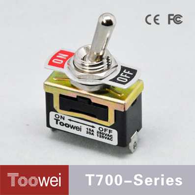 Hot Selling Product T700 Series 12mm power toggle switch