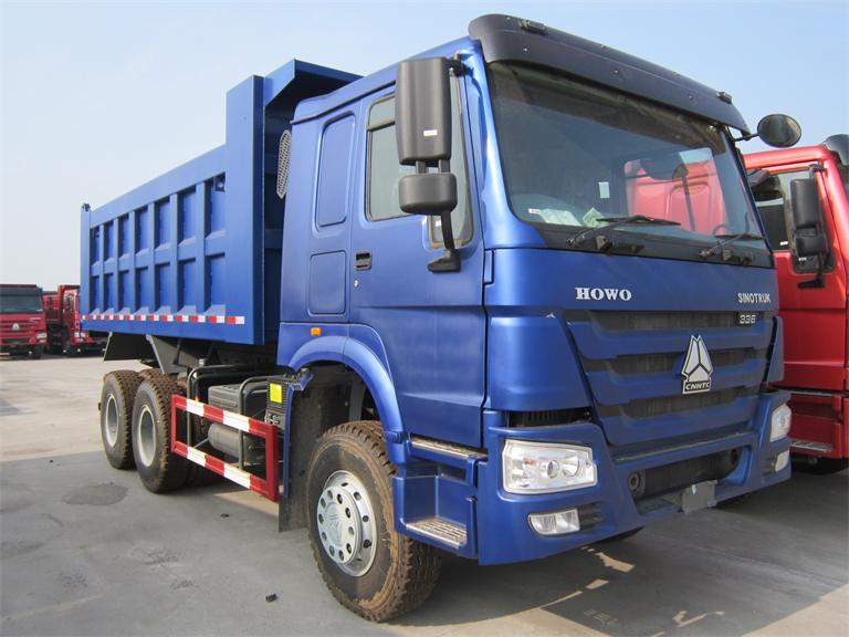 sinotruk howo 6X4 8X4 tipper truck used to transport sand