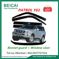 Bonnet Protector, Weathershields For Nissan Patrol GU 1998-2004 Y61 Wagon