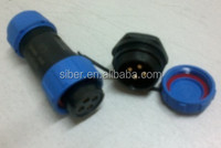 Weipu SP13 IP67 Female and male cable connector