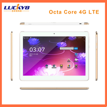 2017 Newest 10 Inch Tablet PC 4G LTE Octa Core 4GB RAM 64GB ROM Dual SIM 5MP Android 6.0 GPS 1920*1200 IPS Tablet PC10""