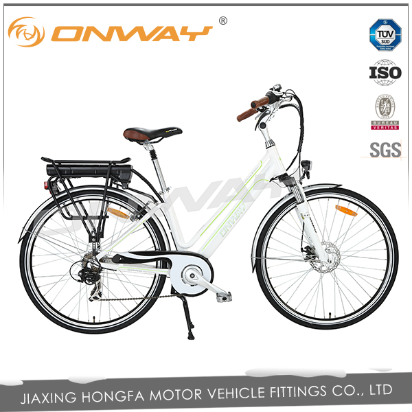 700C bicycle with motor rear battery e bicycle