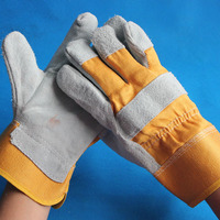 AB BC Grade Cow Leather Glove