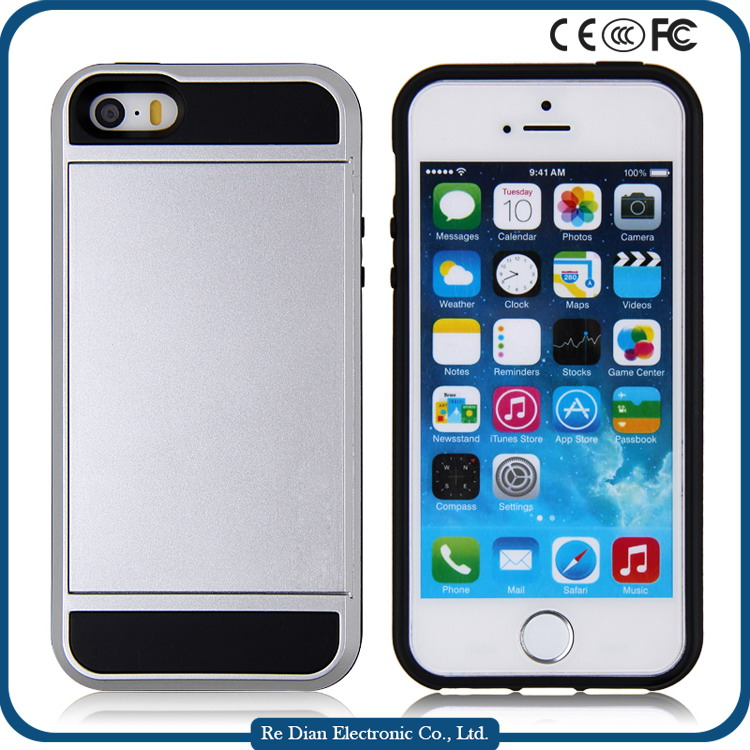 New product PC TPU 2in1 Shockproof cell phone cover Case For iPhone7