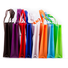 China factory custom grocery bags online bags shopping for reusable gift bags with non woven