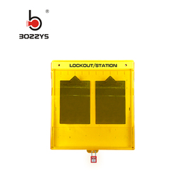 BRADY Combination Advanced Lockout Tagout Management Workstation Station