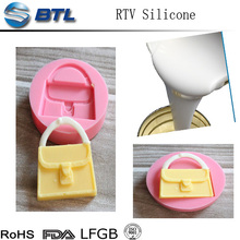 Solid silicone rubber compound for food-grade tableware