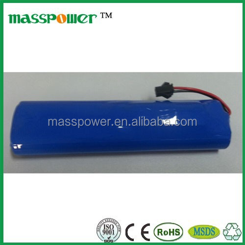 Spotlight 7.4v 14500 li ion battery