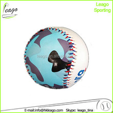 "digital camo baseball, 9"" machine printing baseball"