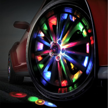 Colorful Programmable Wheel Lights For Car Fashion And Beautiful LED Car Programmable Wheel lights