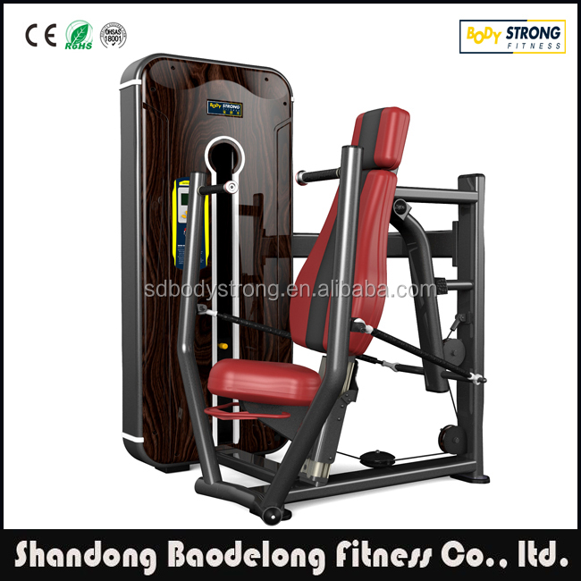 Fitness Equipment Commercial Seated Chest Press Machine