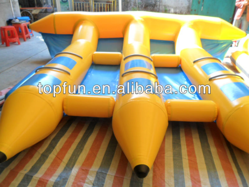 6 person pvc inflatable flyfish boats