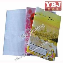 Customized cheaper price student exercise book