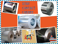 Hot dip galvanized steel coils 0.13-0.8*750-1250mm ASTM mild steel coil in sheet building rew material prepaitned aluzinc steel
