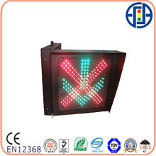 400*400mm Toll Station Stop Go LED Indicational Traffic Signal Light