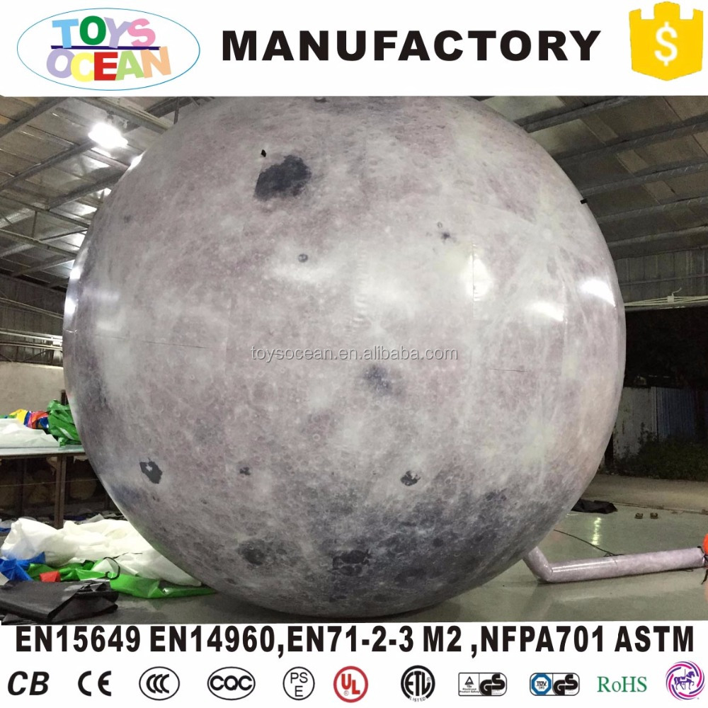 Inflatable Sphere Earth Balloon Planet Design with full printing For Learning Exhibition
