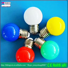 Wedding decorative bulb string b22 e27 e26 multicolor smart plastic 1w color led bulb