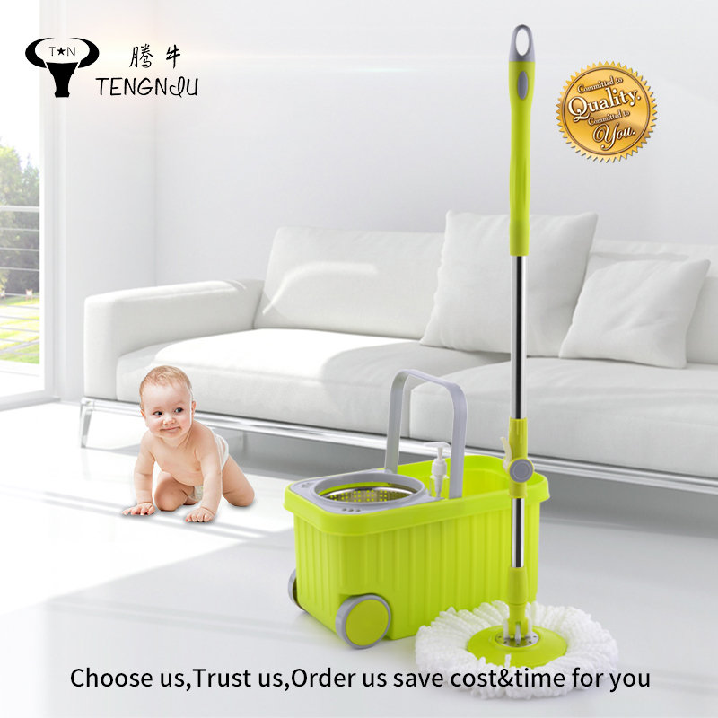 2017 new design TOPS house clean with big wheels 360 magic mop,magic mop,mop